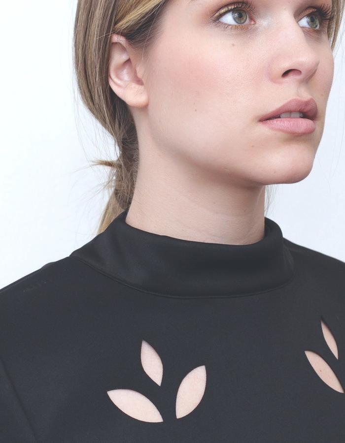 Laser cut dress aw15 LIVLOV