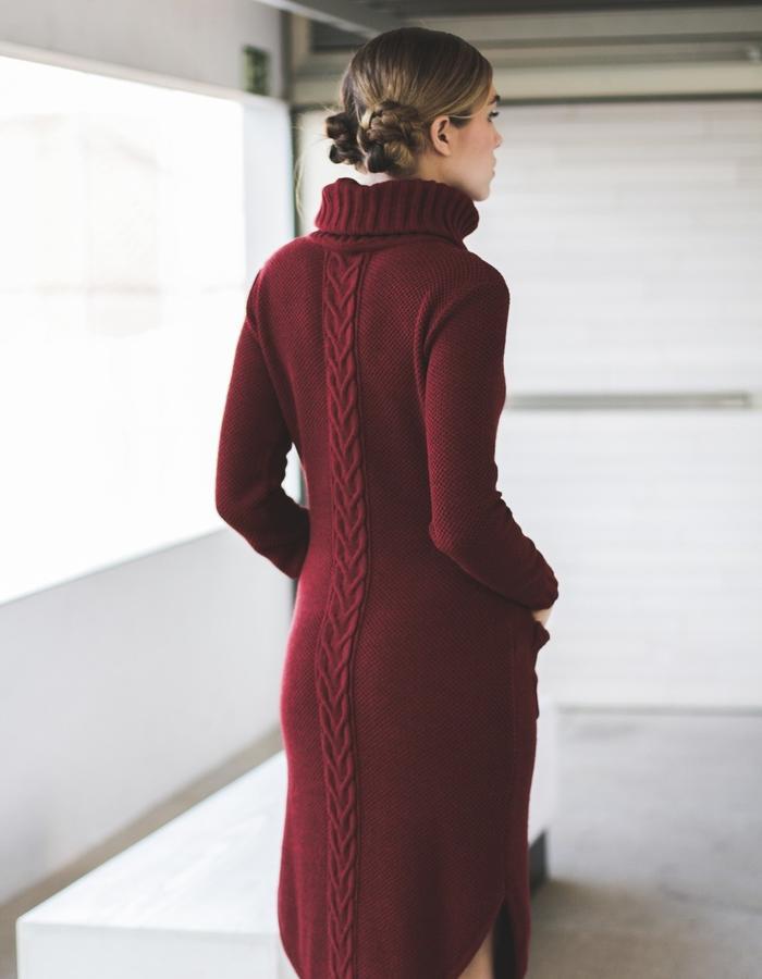 Knitted dress aw 15 LIVLOV
