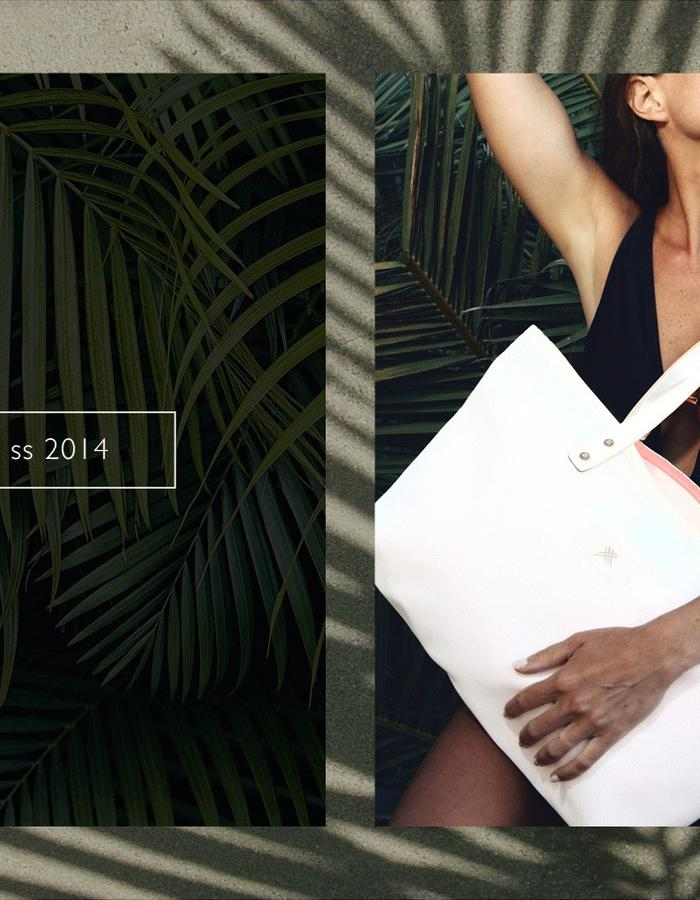 CVLSS14-Villa Blanca-Beach Bag