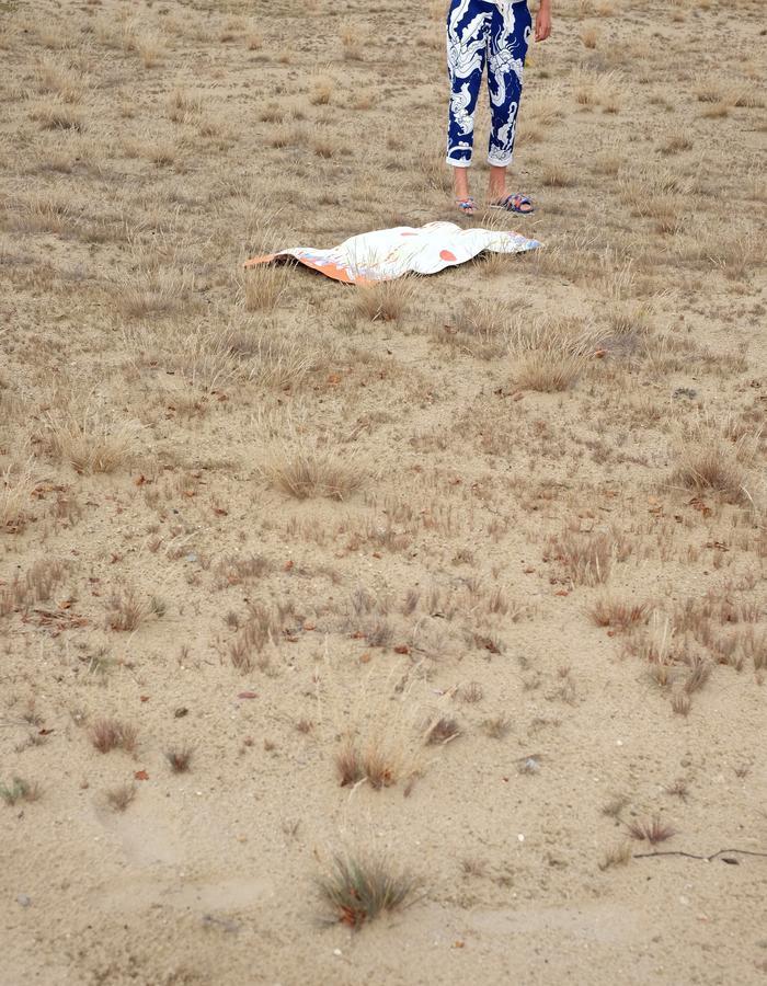 alan auctor ss16 bat brint sweatpants long shot desert