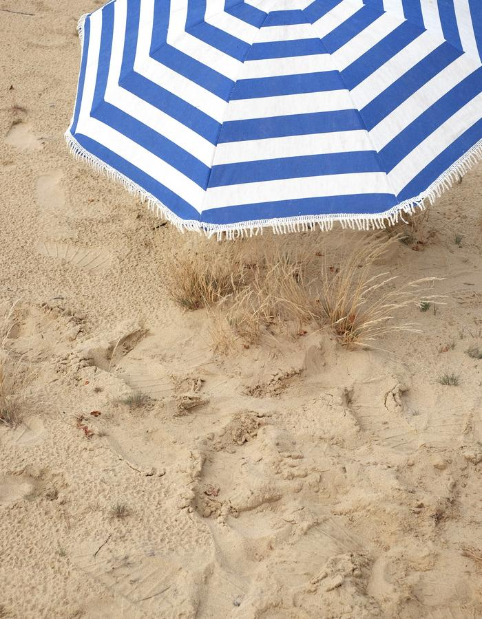 alan auctor ss16 striped beach umbrella