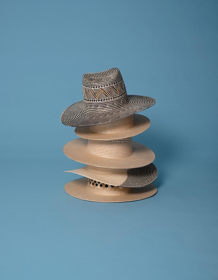 alan auctor ss16 stack of hats