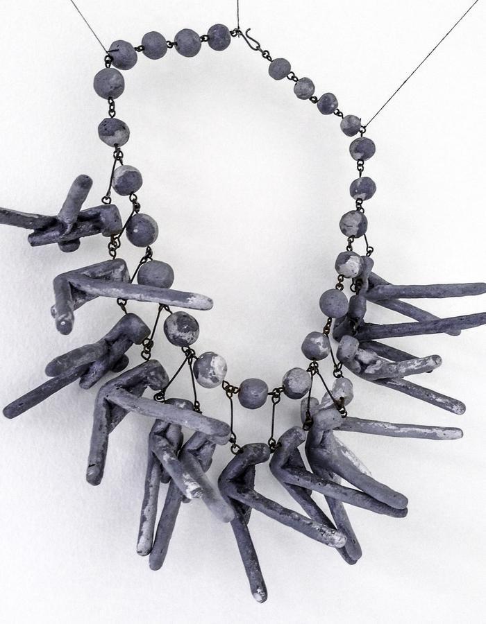 necklace: Grey
