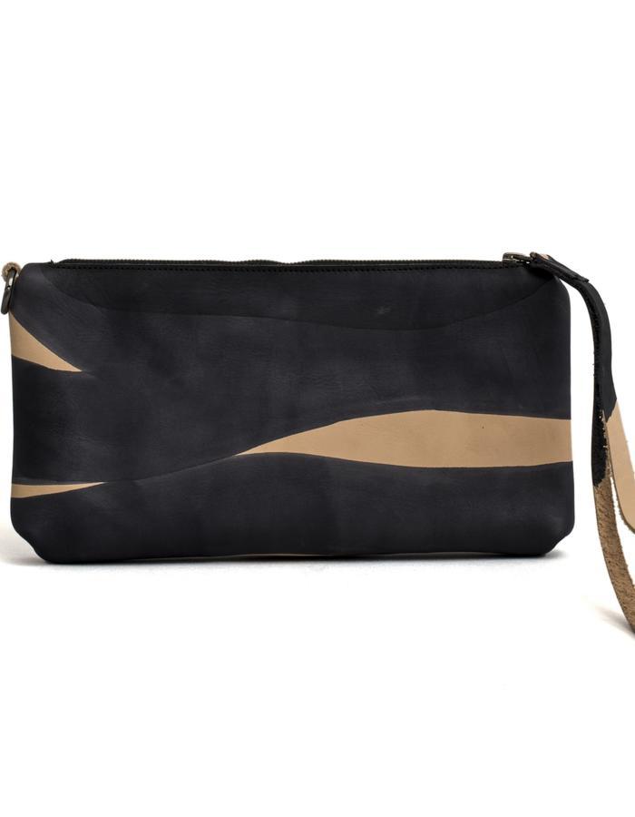 Kamy one of a kind hand painted clutch bag #28