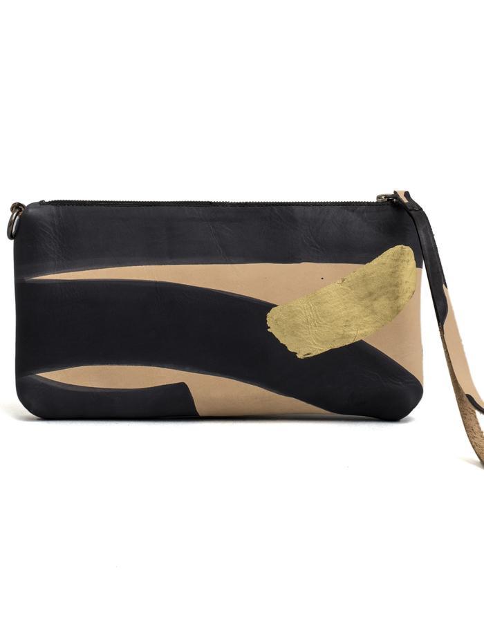 Kamy one of a kind hand painted clutch bag #30