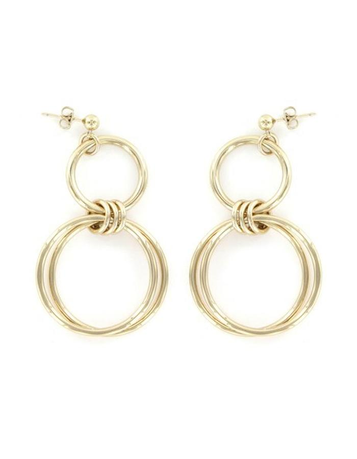 Alice earrings (gold plated)