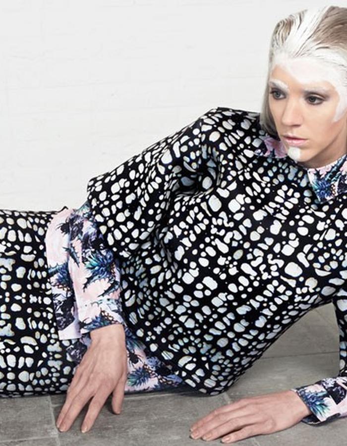 GOLIATH TUTEE  // Neoprene Top & Skirt