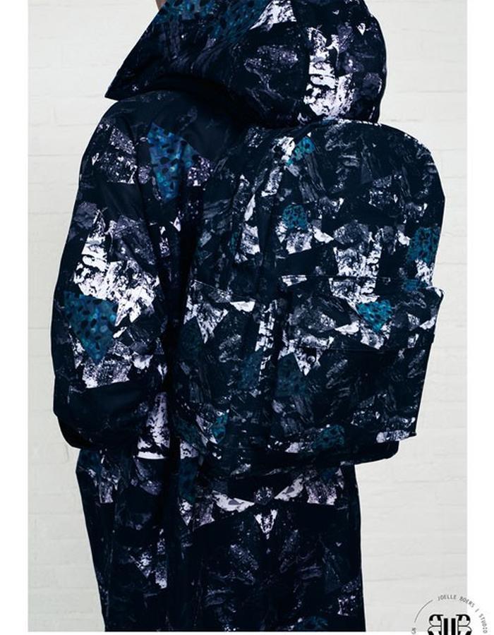 TXAN TARONYU // EYWA Camo Backpack // Unisex