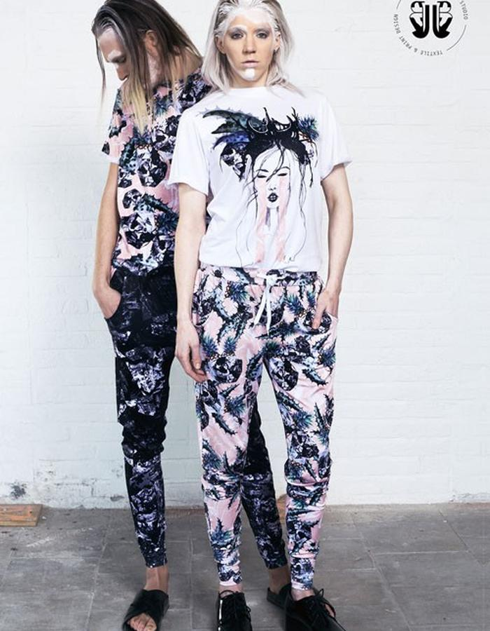 E Y W A Genderless // Top & Trousers
