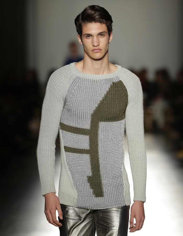 Green Knitwear Sweater