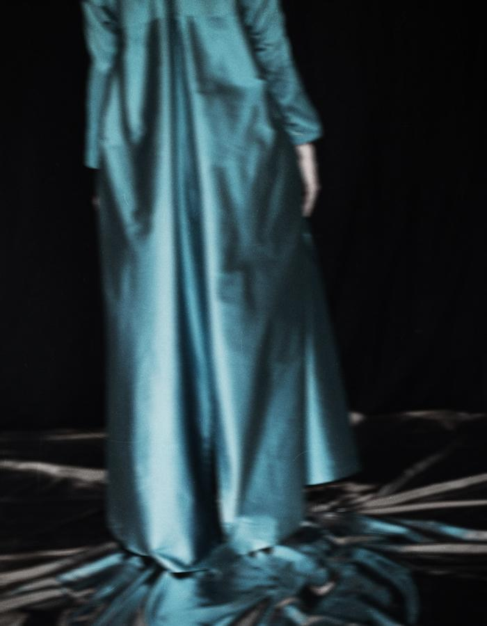Turquoise Long Coat