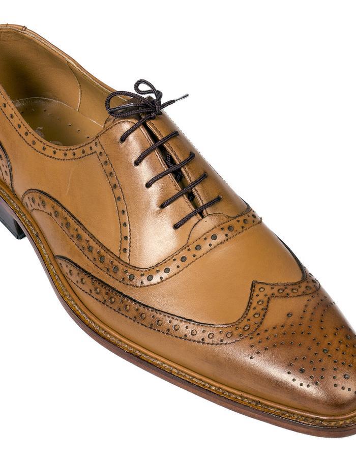 Tango Brown Leather Brogues