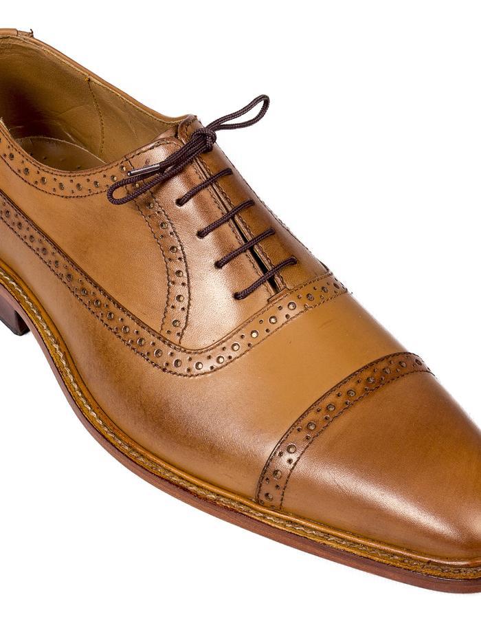 Tango Brown Leather Oxford