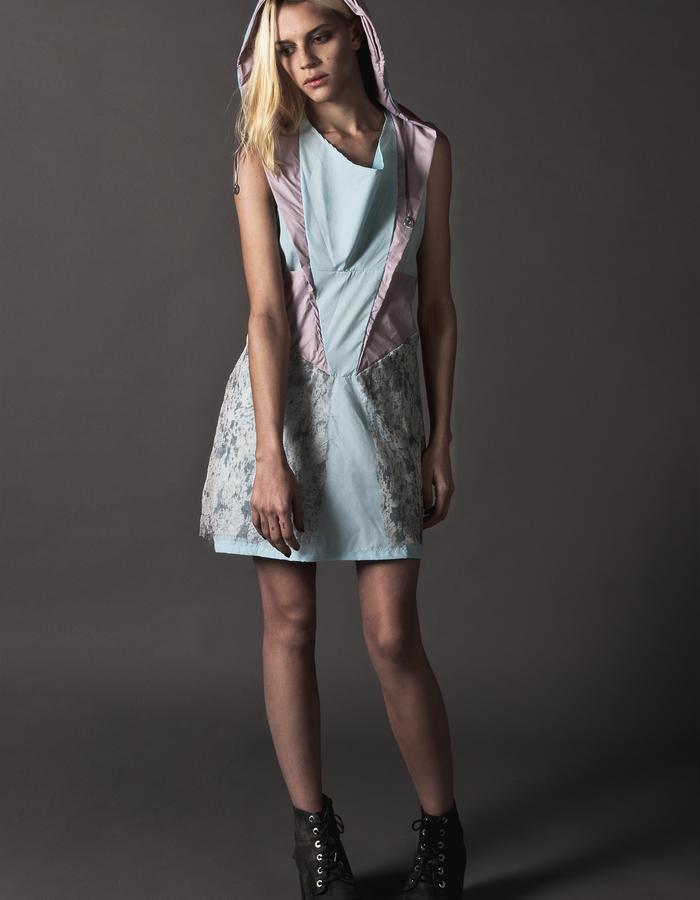 Iris waterproof hooded dress