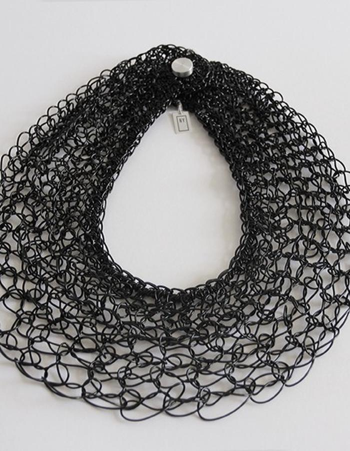 0.1 Necklace it´s made of plastic fiber 100% recyclable