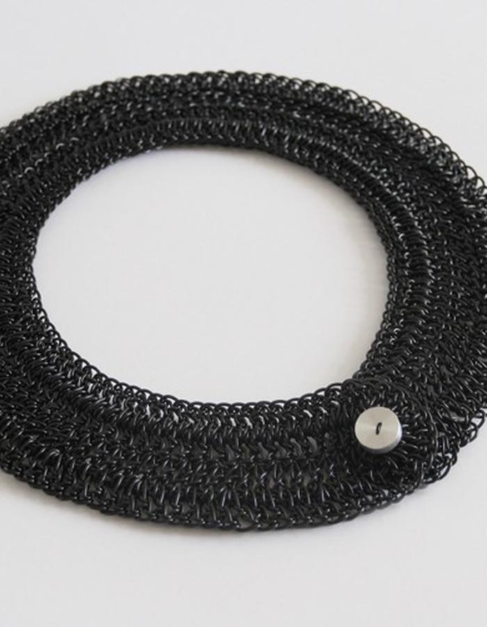 0.2 Necklace it´s made of plastic fiber 100% recyclable