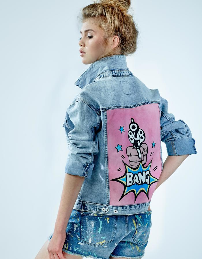 "Denim Jacket ""Bang"" DARIA & MARIA"