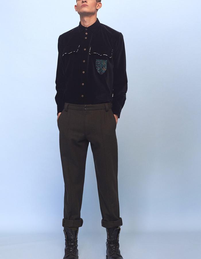 mens khaki trousers