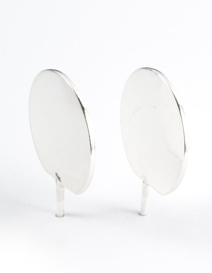 3D Dot Ear Stud (S)/ Large