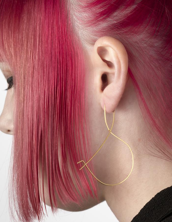 Ampersand Earring