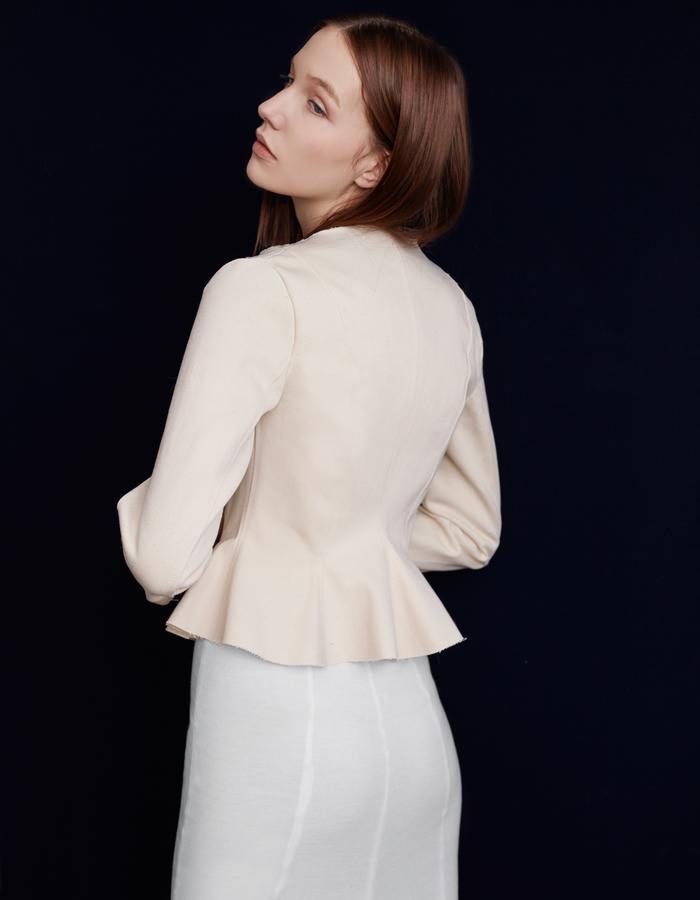 Olya Kosterina Elegant Denim Jacket