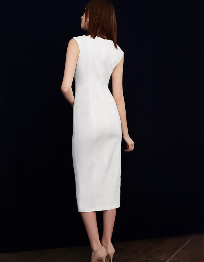 Olya Kosterina Panel Button Dress