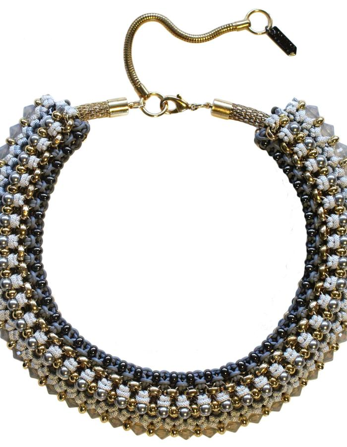 Congo statement necklace by Sollis jewellery