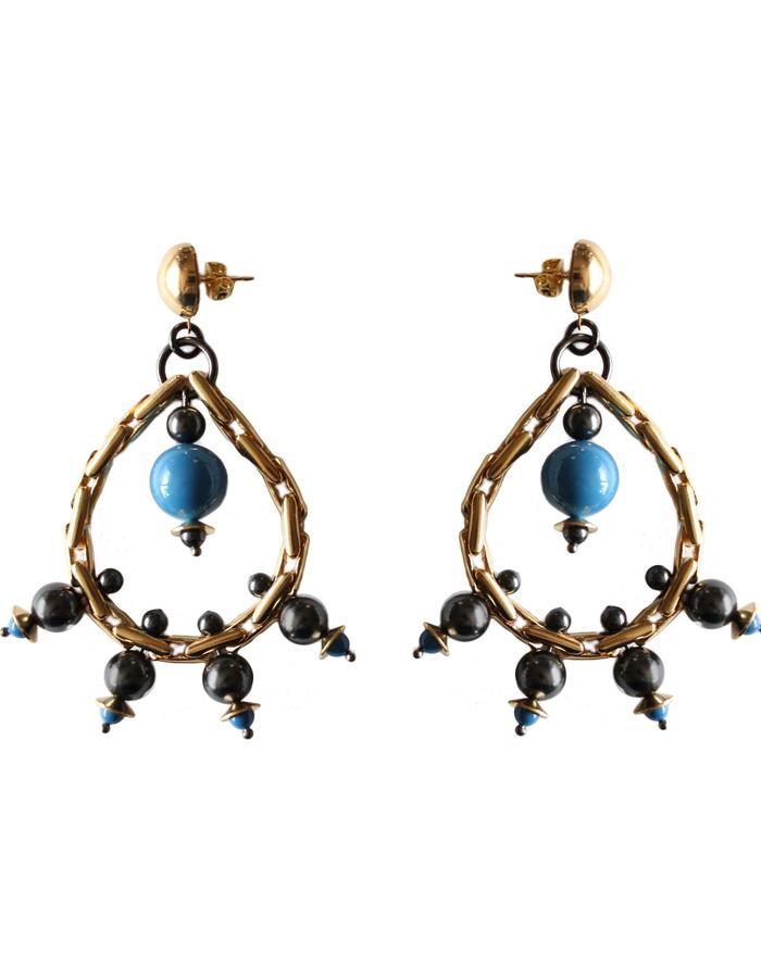 Designer earrings by Sollis
