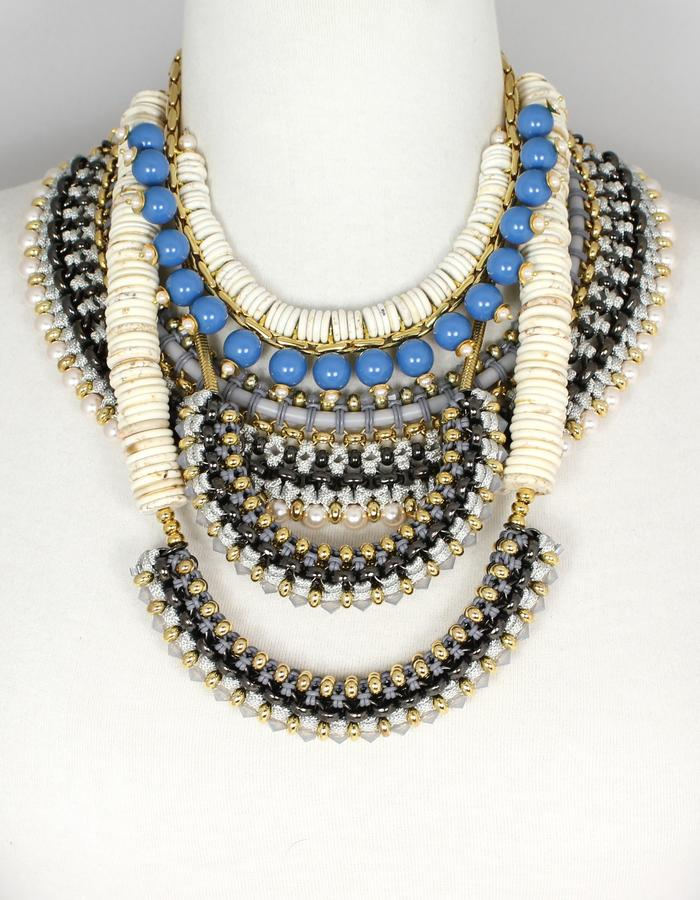 Statement necklaces by Sollis jewellery