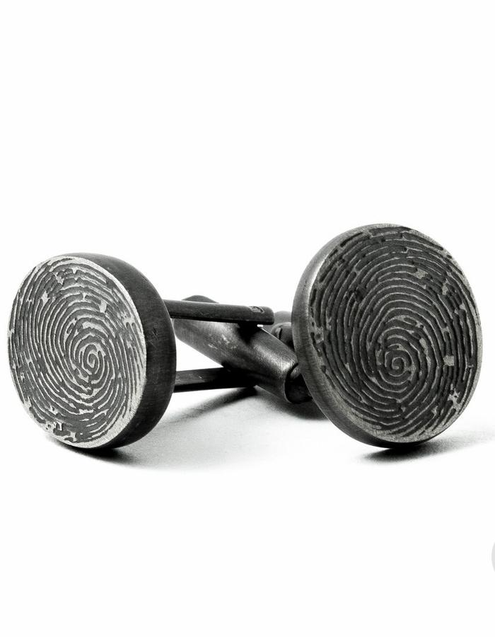 Fingerprints Cufflinks