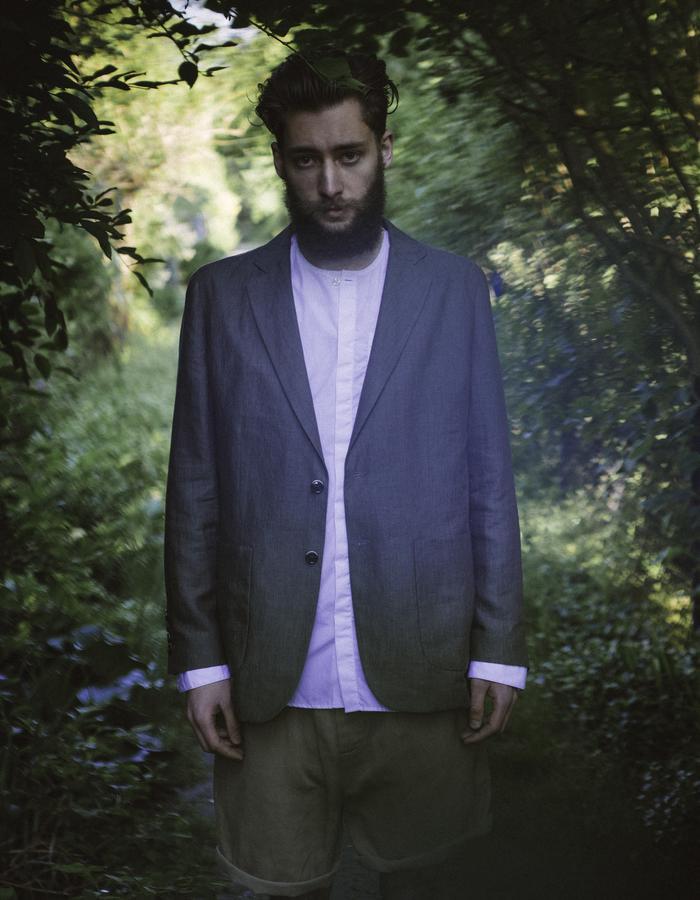 Jacket made from fine Italian linen, woven in the area of Lago Maggiore