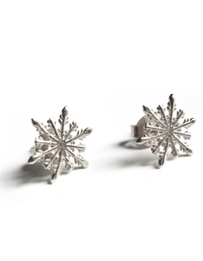Snowflake Earrings SIL