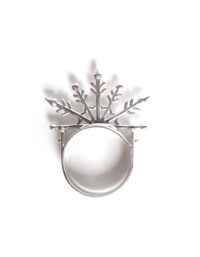 Snowflake Ring SIL