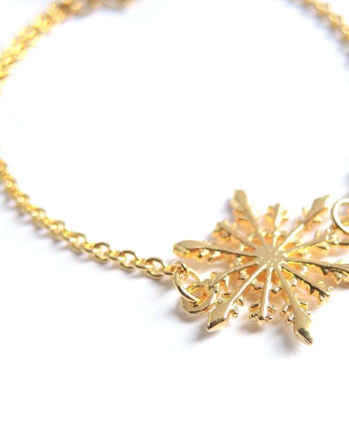 Snowflake Bracelet YG