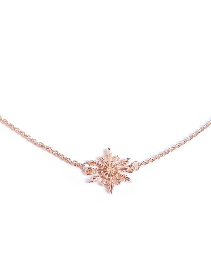 Snowflake Necklace RG
