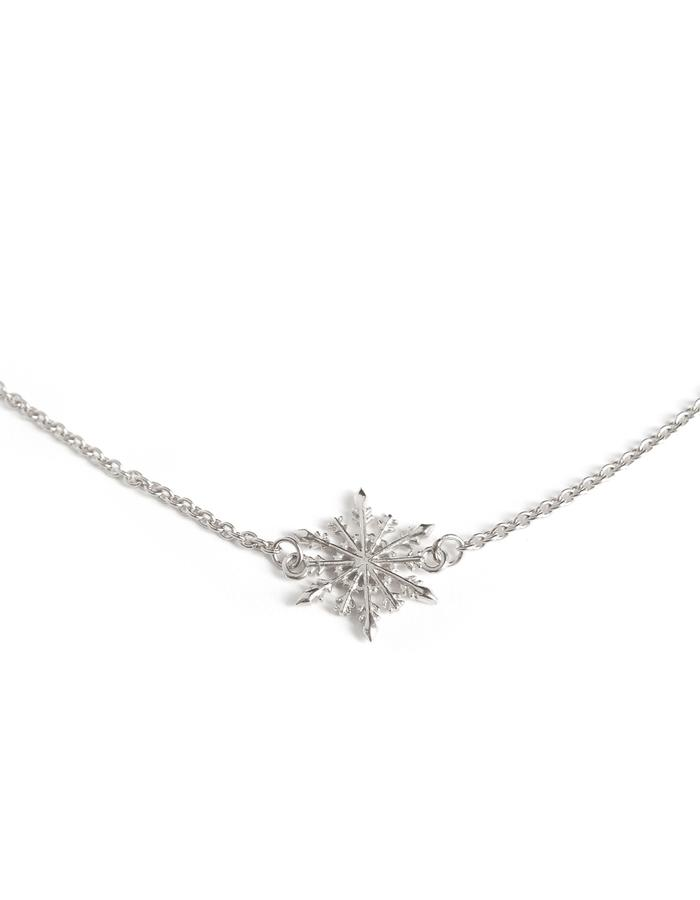 Snowflake Necklace SIL