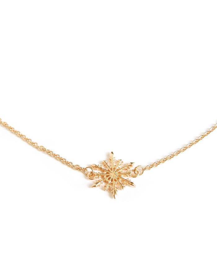 Snowflake Necklace YG