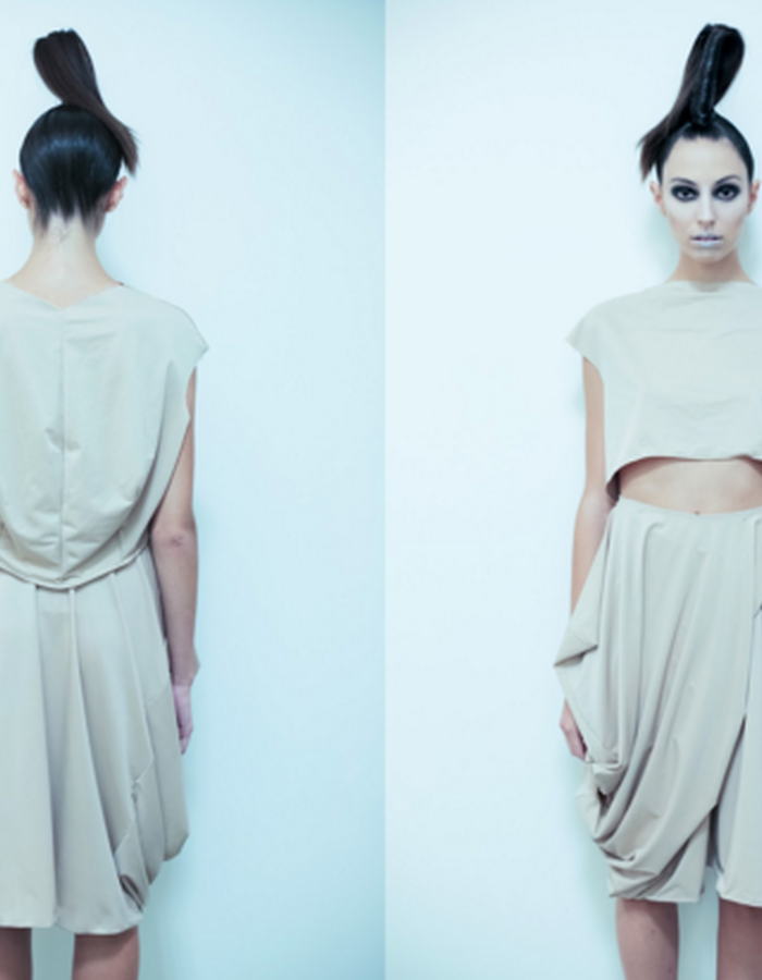 "I.D. Technique by ""Isabelle Donola"" #projectrunway #designerisabelle #NYFW #SS!5"