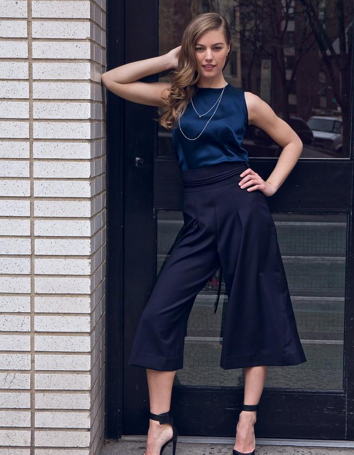 Culottes and Shift Top