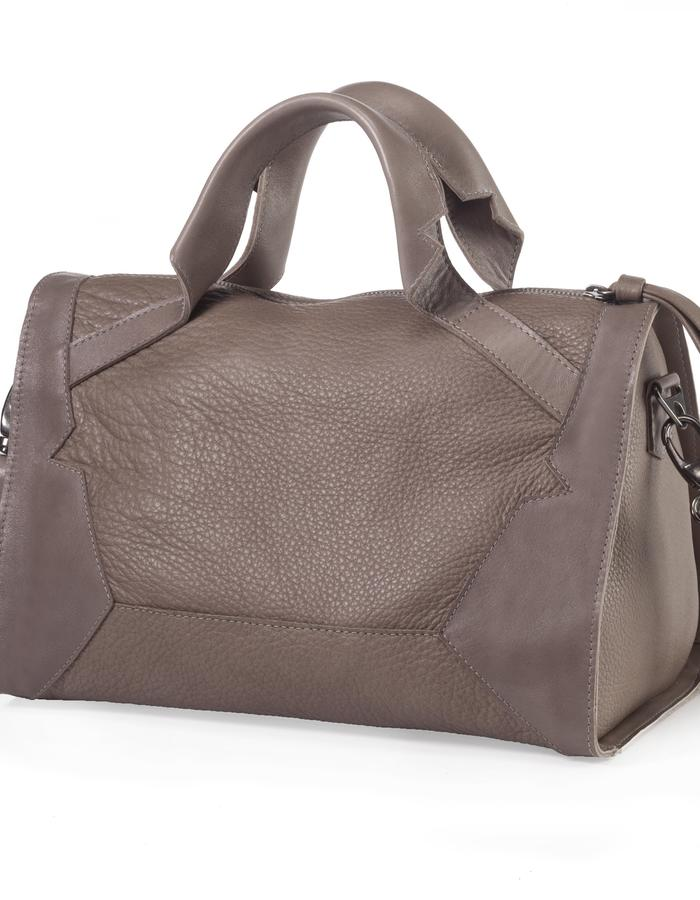Alexander cream color tote by Colle'cte