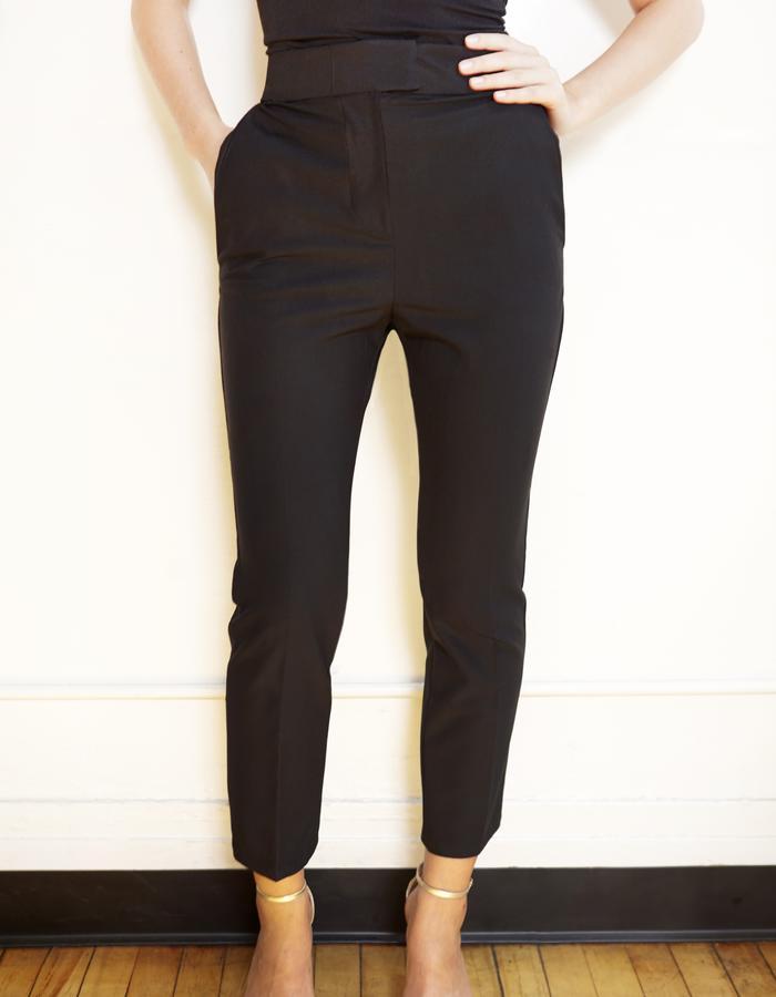 skinny black pant
