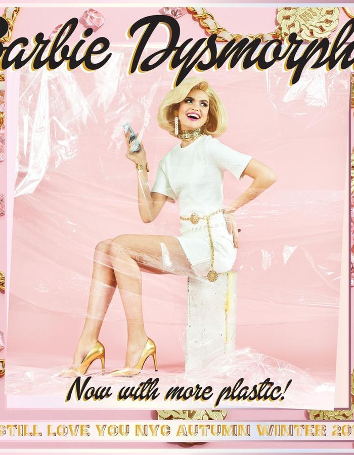 "I Still Love You NYC ""Barbie Dysmorphia"" AW15 collection"