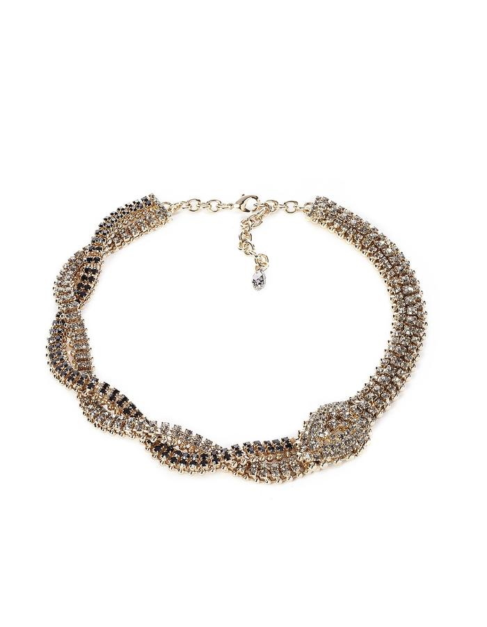 SNAKE NECKLACE WITH TORCHON
