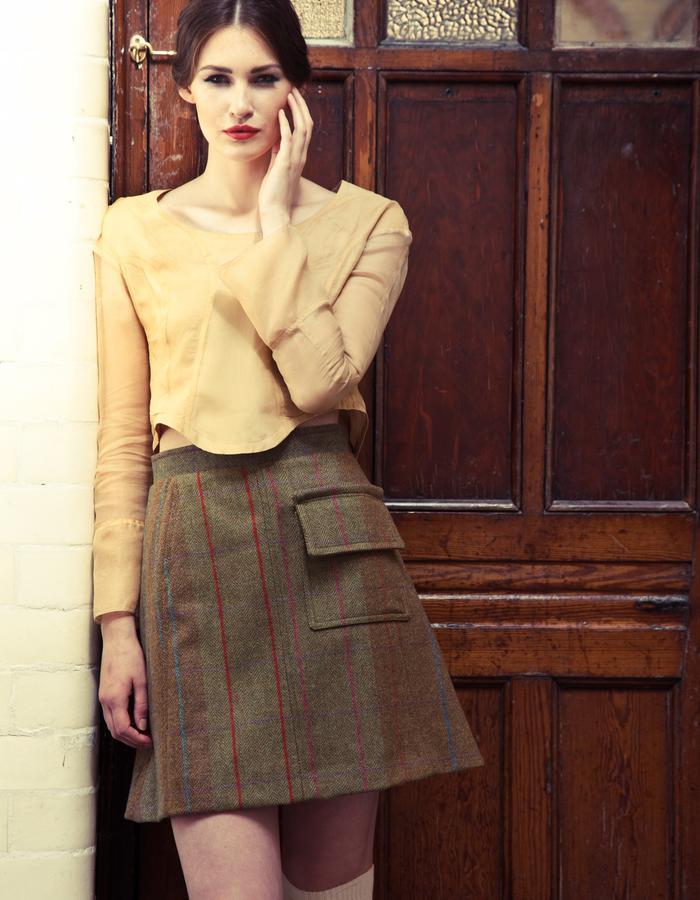Harris Tweed skirt