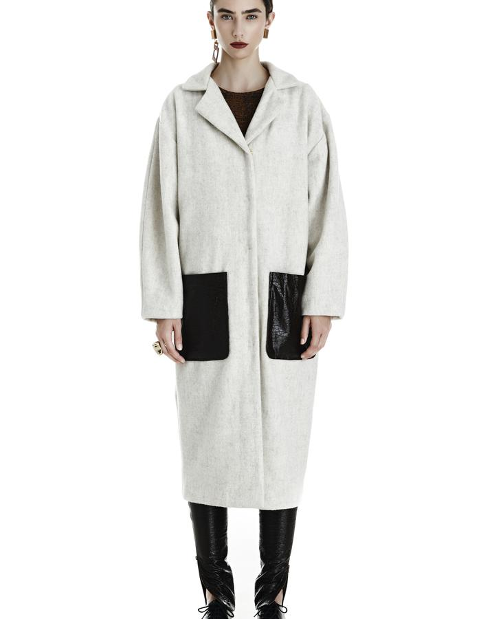 PERRY MAX Wool Coat