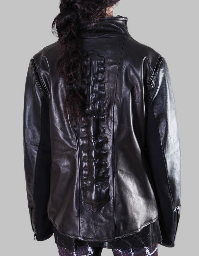 jacket leather spine form over function FOF unisex