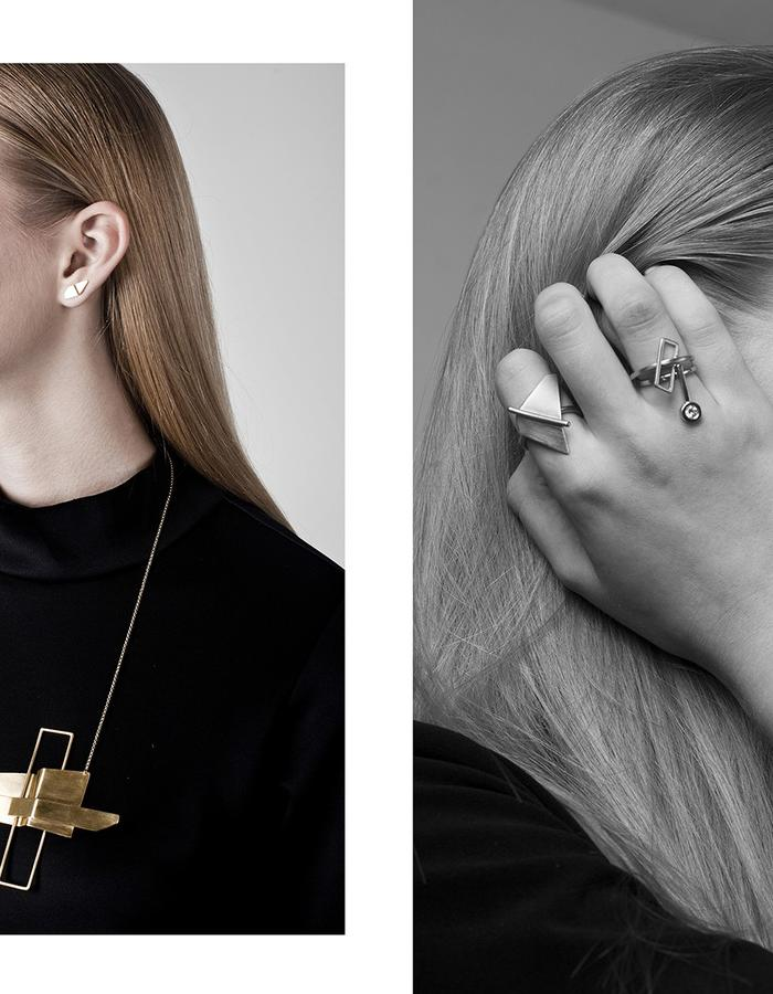 Assemblage collection by CONTOUR . Photography: Merav Ben Loulou