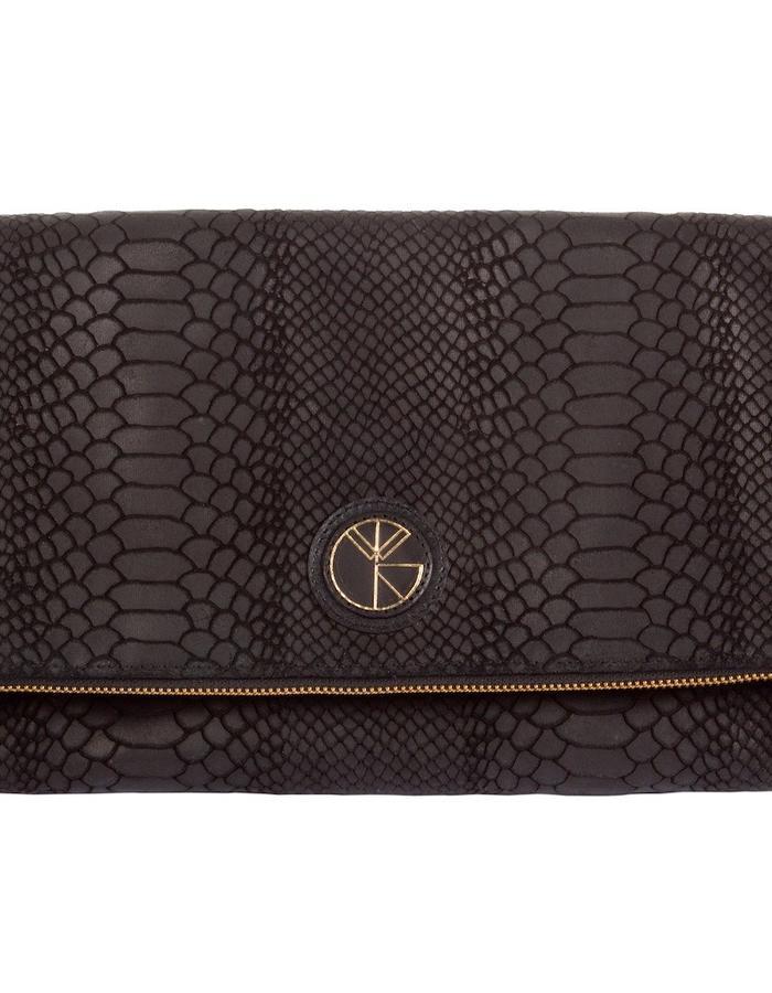 KGW bags - Black 'Dragon II' clutch