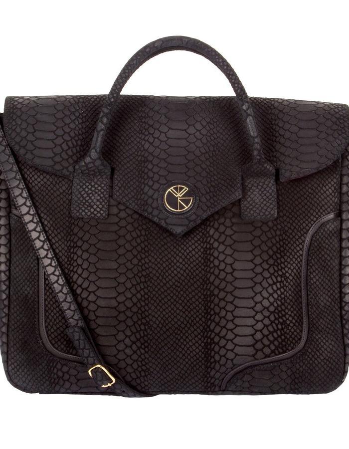 KGW bags - Black 'Dragon I' tote