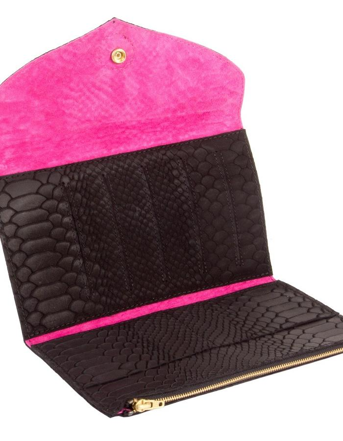 KGW bags - Black 'Dragon III' mini clutch / wallet